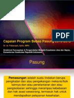 2. Capaian Program Bebas Pasung - Dirkeswa