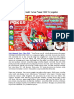 Link Alternatif Dewa Poker 2019