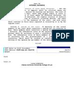 Rule 54 - Internal Business.doc