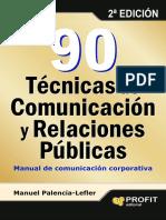 90 Técnicas de Comunicación y Relaciones Públi Nodrm