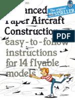 Advanced Paper Aircraft Construction