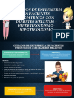 Cuidados de Enfermeria en Pacientes Pediatricos Con Diabetes