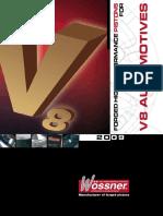 Pistons for V8 Automotives