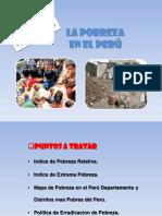La Probreza en El Peru