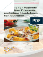 guideline nutrition for liver disease