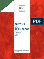 Sintesis de Resultados Censo2017