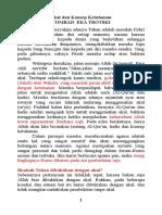 Akal dan Konsep Ketuhanan.doc