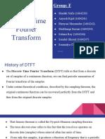 DTFT Presentation
