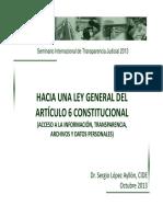 Articulo 6 Constitucional