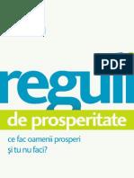 Reguli de Prosperitate