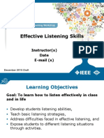 Alw Effective Listening Powerpoint Draft Dec30