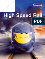 High Speed Rail Command Paper