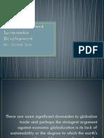Economic Globalization and Sustainable Development