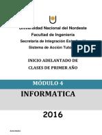 Modulo-4 Informatica 1 2016