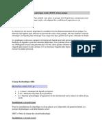 Calcul de La Hauteur Manométrique Totale