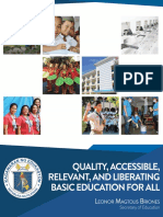 Quality, Accessible, Relevant and Liberating Basic Education for All