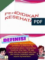 Pendidikani  kesehatan