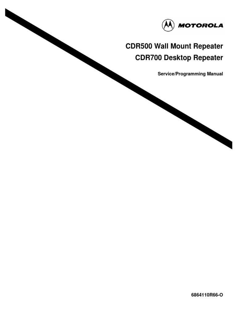 CDR500 CDM1250 Heatsink Fan Bracket CDM1550 Motorola CDM750