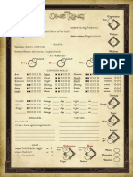 PregenCharacterSheets Adventures in Middle Earth