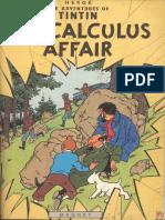 Tintin and the Calculus Affair