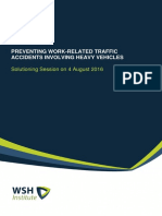 preventing work-related traffic accidents involving heavy vehicles