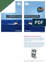 Blackberry Internet Service User Guide E