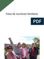 Fotos de reuniones familiares