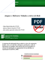 Ataques e Malwares Voltados a Ativos de Rede - Segurança de Sistemas de Informação - IFSP