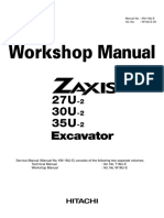HITACHI ZAXIS 35U-2 EXCAVATOR Service Repair Manual.pdf