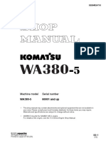 Komatsu WA380-5 Wheel Loader Service Repair Manual SN:60001 and up.pdf