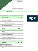 TAFE Process Audit Check List - Revision 2