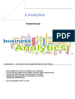 SCM Analytics Session 1 2 3 4