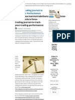 1.2-Forex Trading Journal _ Trading Journal Spreadsheet » Learn to Trade the Market