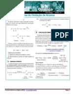 Reações de Oxidação de Alcenos