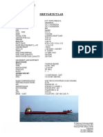 Ship Particular Lct Kinta Perjaya