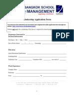 BSM Scholarship Form[3892]