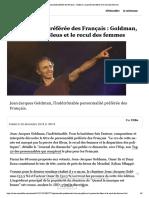 Personnalité préférée des Français - Go...ercée des Bleus et le recul des femmes