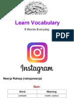 Learn Vocabulary- Set 64