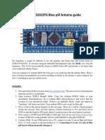 Stm 32 Blue Pill Arduino Guide