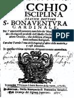 Buenaventura - Lo specchio della disciplina