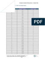Ecdl Icdl - Syllabus - V5.0 - Samplemqtb - Msvista2007 - V1 - 0