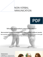 Non-Verbal Communication 1