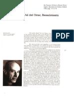Val Del Omar - Renacimiento