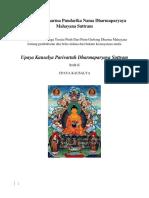 Upaya Kausalya Parivartah Dharmaparyaya Suttram