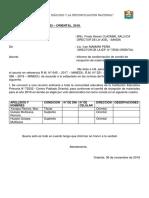 Informe de Comite de Materiales