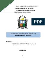 Mortalidad Neonatal Monografía de Evelyn Chamorro