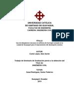 Uso de Disipadores Viscosos en Edificios de Hormigón Armado en La Ciudad de Guayaquil Para El Mejoramiento Del Desempeño Sísmico.