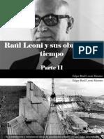 Edgar Raúl Leoni Moreno - Raúl Leoni y Sus Obras en El Tiempo, Parte II
