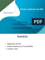 Sinais e Sintomas AVC -27p