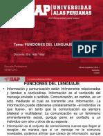 1. Funciones Del Lenguaje